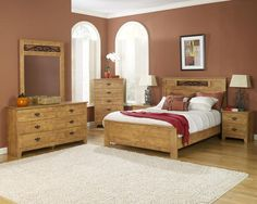 knotty pine bedroom furniture stores | Home interiors | Pinterest ...