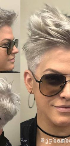 Trendy Pixie Haircut for Women, 2018 Summer Short Hair Ideas [19659014] Trendy Pixie Haircut for Women, 2018 Summer Short Hairstyle Ideas
