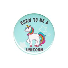 Born to Be a Unicorn Sticker Bomb Vinyl Decal Unicorns Laptop Stickers Accessory for sale online