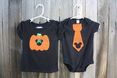 Brother Sister Matching Halloween Disney Shirts Mickey and Minnie Shirts or Onesies