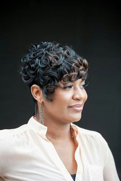 Pin Curls Like The River Salon