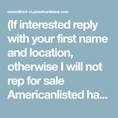 (If interested reply with your first name and location, otherwise I will not rep for sale Americanlisted has motorcycles and parts in New Milford, Connecticut both new and used. Cheap Electric Scooters, Milford Connecticut, New Milford, Detroit Michigan, Mini Bike, First Names, Chopper, Motorcycles, Choppers