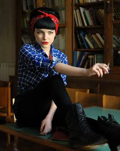 ♥ Rockabilly Girl ♥ • http://hot-n-cold-girl.tumblr.com/
