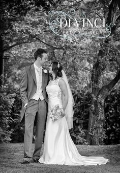 Love this image of our Real Bride Claire wearing Boadicea by Charlotte Balbier