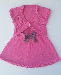 Girls clothes Skirt and Vest Hand Knit Vest от KnittingAndYarns