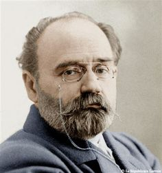 Emile Zola (April 2, 1840 - September 29, 1902) French writer and journalist.