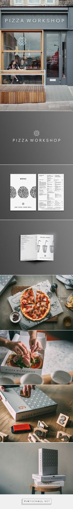 Pizza Workshop | Identity Designed - created via https://pinthemall.net