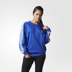 Adidas originali 3 strisce collo felpa coisas que quero