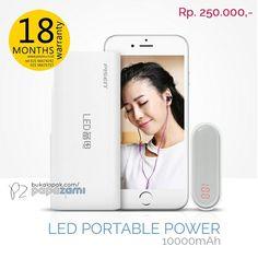 Pisen LED Portable Power 10000mAh cuma IDR 250.   Online shopping: www.bukalapak.com/papazami  Fast Order: HP/WA/TG: 0815-1100-6400 BBM: 5E2E9F7F LINE ID: papazami  #pisen #pisenindonesia #pisenmart #pisenstore #pisenshop #pisenonline #powerbank #papazami #tokopapazami #onlineshop