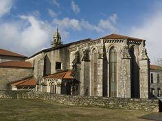 Ábside do Mosteiro de Santo Domingo de Bonaval (Santiago de Compostela)