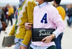 Tommy Ton Shoots the Street-Style Scene at the Spring 2013 Shows