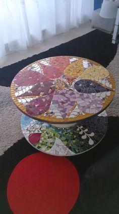 Tables | Cécile Querol Mosaïque