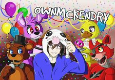 Five Nights At Freddy's, Youtubers, Horror, Anime, Fan, Fictional Characters, Stars, Cartoon Movies, Sterne