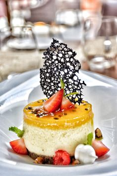My Dessert – Passion fruit cheesecake by Pastry Chef Ajith