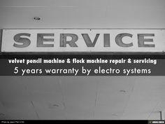 velvet pencil machine & flock machine repair & servicing by bhagyoday association via slideshare