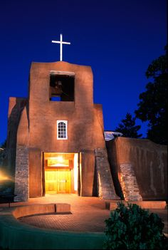 San Miguel Mission in Santa Fe, New Mexico.  This is the oldest Church in the US built somewhere between 1610-1626.