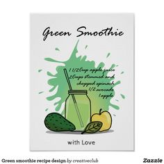 #greensmoothie #smoothierecipe design #fitness #health