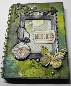 Crafting ideas from Sizzix UK: Memories book