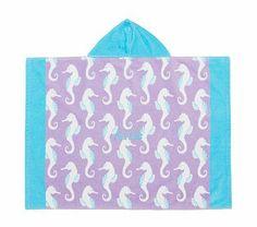 Seahorse Baby Beach Wraps Potterybarnkids Nursery Wrap My