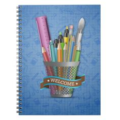 Welcome Artistic Notebook   first day school, back to school get to know you, welcome back to school ideas #backtoschoolday #backtoschoolxHuawei #backtoschooloutfits, back to school, aesthetic wallpaper, y2k fashion Back To School For Teens, Back To School Highschool, First Day School, Welcome Back To School, Middle School, Back To School Organization, Custom Notebooks, Succulents Diy, Getting To Know You