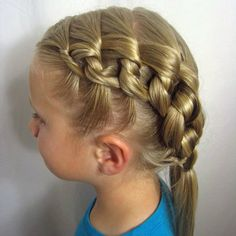 Peinados para niñas de trenzas