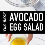 The Best Avocado Egg Salad - Green Healthy Cooking Avocado Egg Salad, Real Food Recipes, Cooking Recipes, Clean Eating Diet, Healthy Cooking, Original Recipe, Superfoods, Love Food, Food To Make