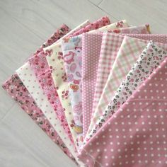 50*50cm 10 pcs Cotton Fabric Fat Quarter Bundle Quilting Tilda Fabric Sewing Patchwork Polka dot cotton handmade Fabric