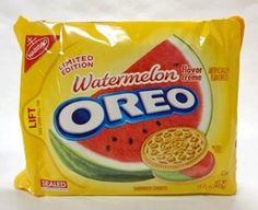 Oreos Watermelon Flavor?