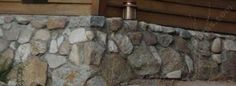 How to build a retaining wall. An easy rock wall or a rock garden? How to build a retaining wall.