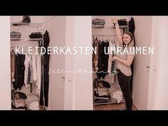 Kleiderschrank umräumen #fallwithsandy - YouTube Wardrobe Rack, Coat, Youtube, Fashion, Reach In Closet, Moda, Sewing Coat, Fashion Styles, Peacoats