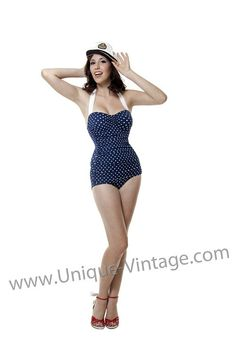 Vintage Swimsuit Cuteness