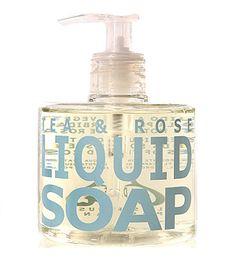 Eau D'Italie - Tea & Rose Liquid Soap - 300 ml