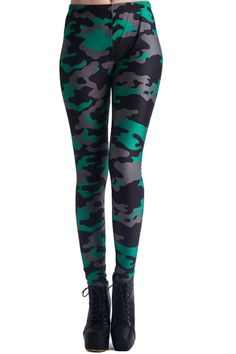 Dark Camouflage Print Leggings. Description These Leggings have been crafted from elastic fabric design, featuring dark camouflage pattern design, stretchy waist and all in soft-touch stretch fabric. Fabric Dacron and Spandex. Washing 40 degree machine wash , low iron.#Romwe