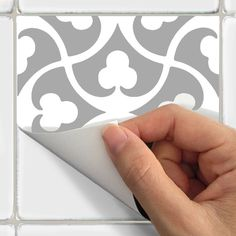 Tile Decals Stickers for Kitchen Backsplash Floor by SnazzyDecal