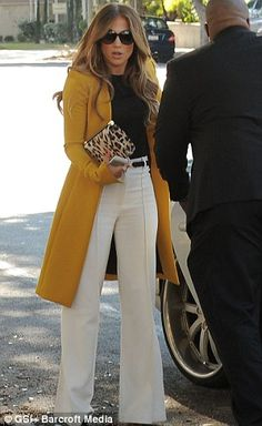 She's just Jenny from the Block: J-Lo goes back to her hip hop roots in tracksuit Stylish Work Outfits, Business Casual Outfits, Classy Outfits, J Lo Fashion, Timeless Fashion, Fashion Outfits, Office Fashion, Petite Fashion, Lolita Fashion