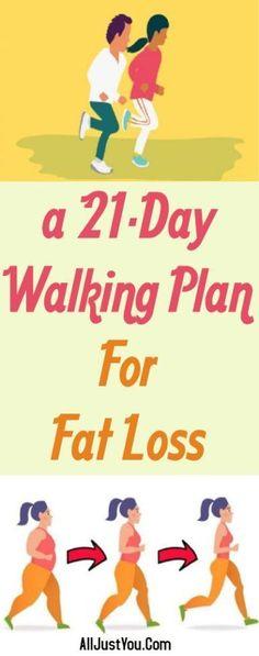 A 21-Day Walking Plan For Fat Loss #health #fitness #beauty #weightloss #diy #fat