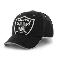 2985deaec28 Oakland Raiders Creature Black 47 Brand TODDLER Hat