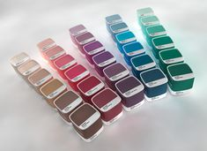 Pantone paint cans packaging design concept. Pantone Paint, Pantone Cmyk, Pantone Colour Palettes, Pantone Color, Paint Swatches, Color Swatches, Color Mixing, Color Pop, Colors