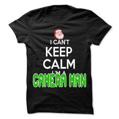 (Tshirt Fashion) Keep Calm Camera man