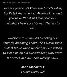 Say You, Told You So, John Macarthur, Christ, Wisdom, God, Sayings, Dios, Lyrics