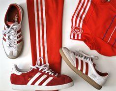 Facade Goes Fashion: Karkkiraidat ja sulkapalloasu | Candy Stripes by Adidas