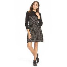 Junior Element 'Maren' Jacquard Sweater Dress
