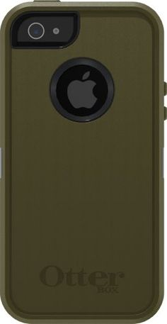 Otterbox Defender Case with Holster for iPhone 5 ONLY - Not compatible with iPhone 5s - AT&T Packaging - Army Green/Black OtterBox http://www.amazon.com/dp/B009PCMD18/ref=cm_sw_r_pi_dp_YuVWub0KAXJ3K
