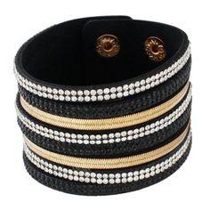 GET $50 NOW | Join Dresslily: Get YOUR $50 NOW!http://m.dresslily.com/vintage-faux-leather-layered-rhinestoned-bracelet-for-women-product1493385.html?seid=KC1OI2p9Mh9K5v7ShvKrjCnntC