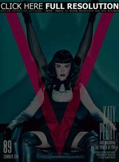 Madonna, Katy Perry, V Magazine June 2014 Cover Photo - United States