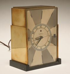 Paul T. 7 Very good cosmetic condition, working. Classic Clocks, Telling Time, Art Deco Period, Needful Things, 4 H, Antiques, Table, Collections, Interiors