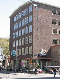 Dudok, kantoor en woningen, Rotterdam 1952