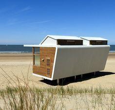 Strandhuisjes Cadzand - Bad DEBS MVSA Architecten Molecaten