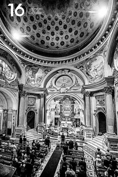 Wedding Glamour in Turin: La cerimonia in chiesa.