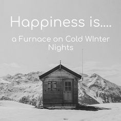 Happiness is a furnace on cold winter nights. Winter Night, Happy Life, Happiness, Cold, Instagram Posts, The Happy Life, Bonheur, Being Happy, Happy